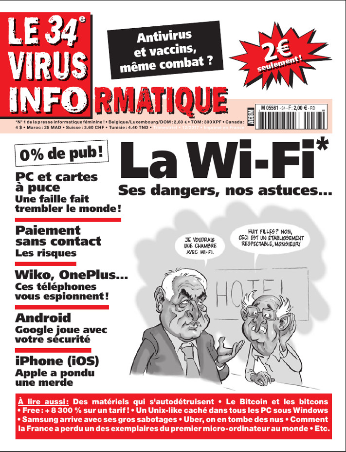 Le Virus Informatique 34 (par Le Virus Informatique)